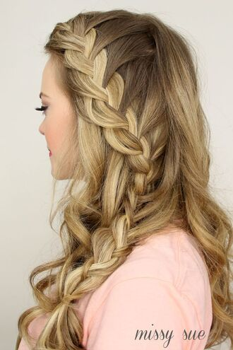 hair accessory wedding hairstyles prom beauty braid blonde hair