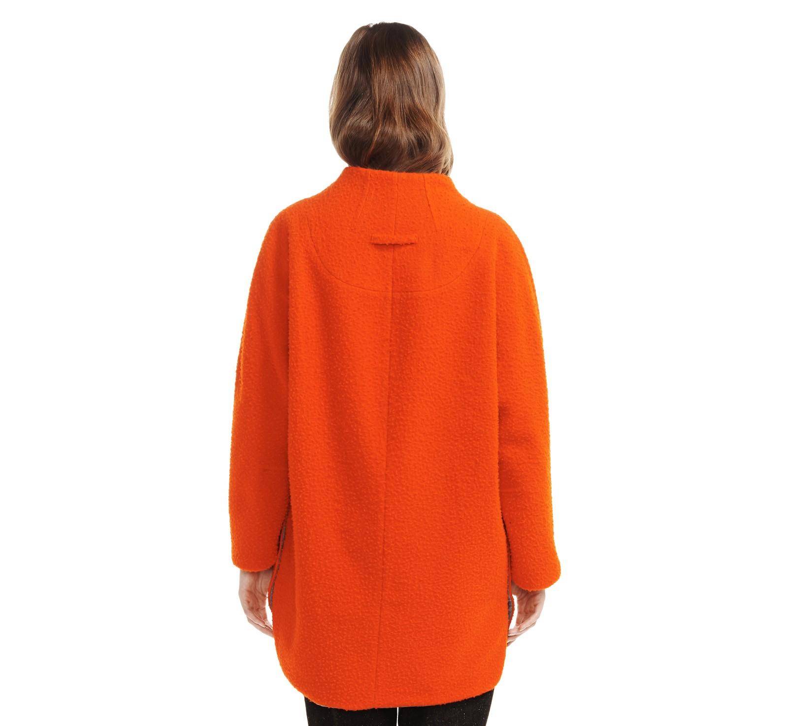 Front Zip Wool Coat | Etienne Aigner | EtienneAigner.com