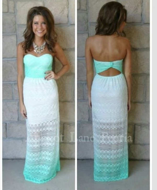 dress summer dress mint