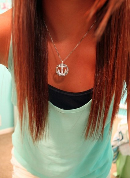 jewels anchor necklaces