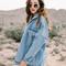 Oversized denim jacket · so nouveau · online store powered by storenvy