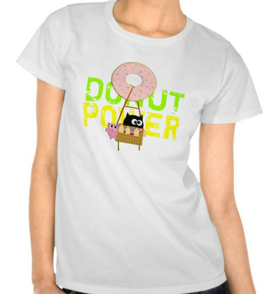 cats shirt fitz hot air balloon donut lol shirts t-shirt funny shirts cute shirts animals