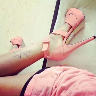 shoes high heels pink heels strappy baby pink pink buckle pink high heels baby pink high heels heels pink amazing