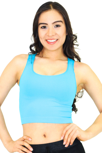 Seamless Athletic Crop Top Danice Stores