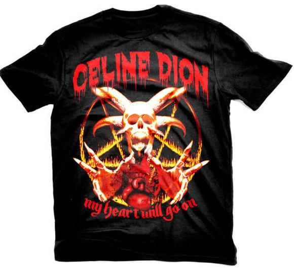 shirt t-shirt punk metal black rock red