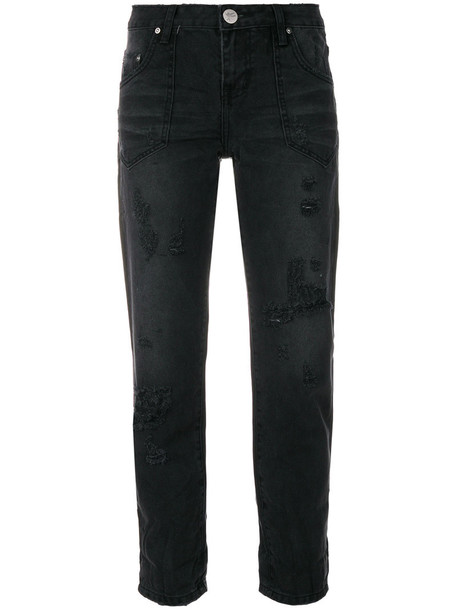 jeans cropped jeans cropped women cotton black