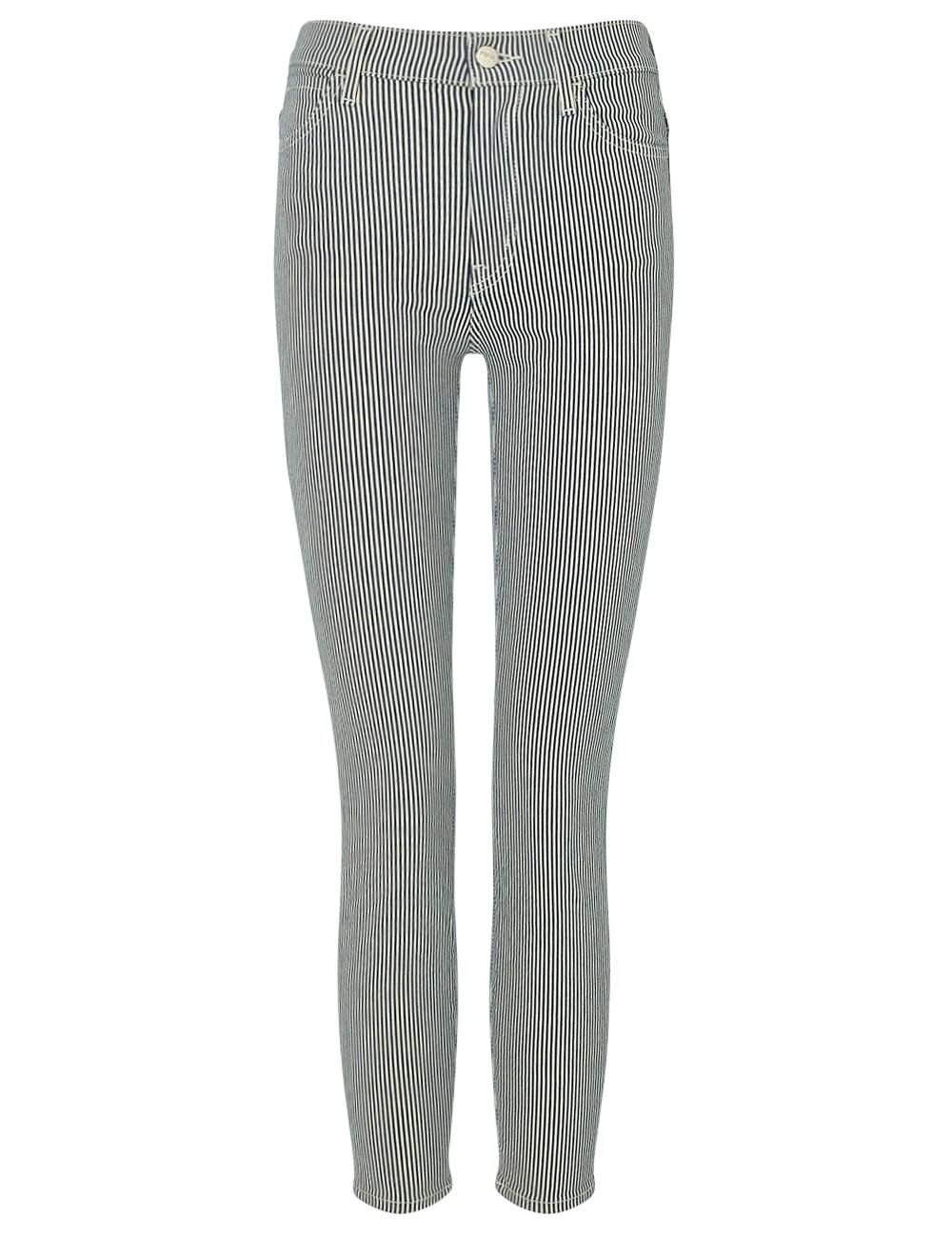 Koral striped skinny jeans