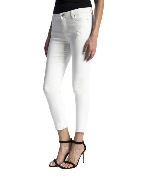 Liverpool jeans white