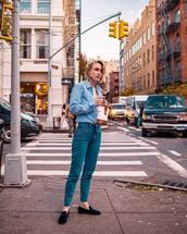 jeans,tumblr,blue jeans,denim,shoes,loafers,velvet,velvet loafers,shirt,blue shirt,stripes,striped shirt