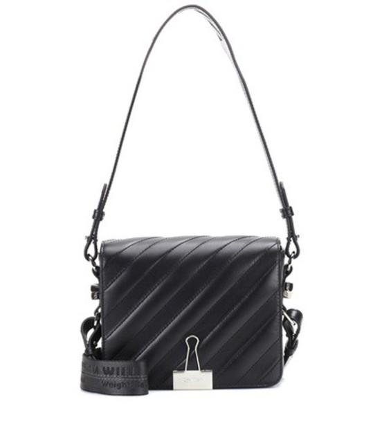 Off-White bag shoulder bag leather black