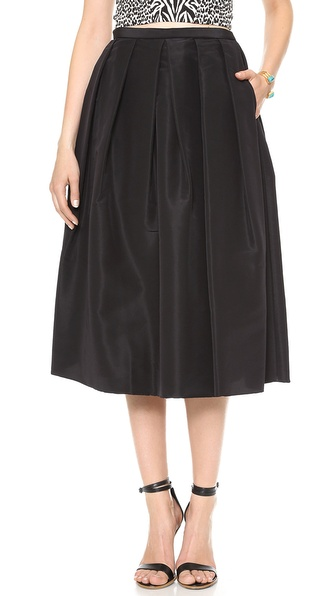 Tibi Silk Faille Skirt | SHOPBOP