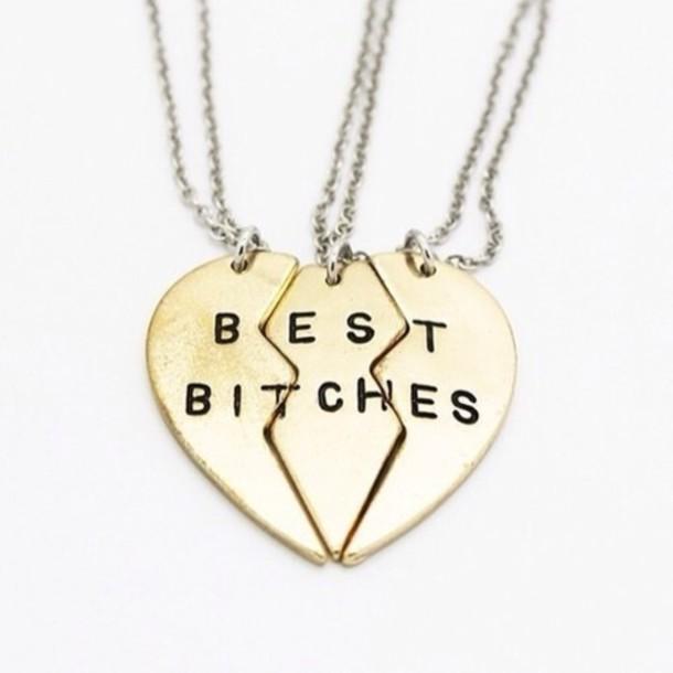 610x610-jewels-best-bitches-necklace-best-friends-best-friends-forever    Three Best Friends Forever Necklace