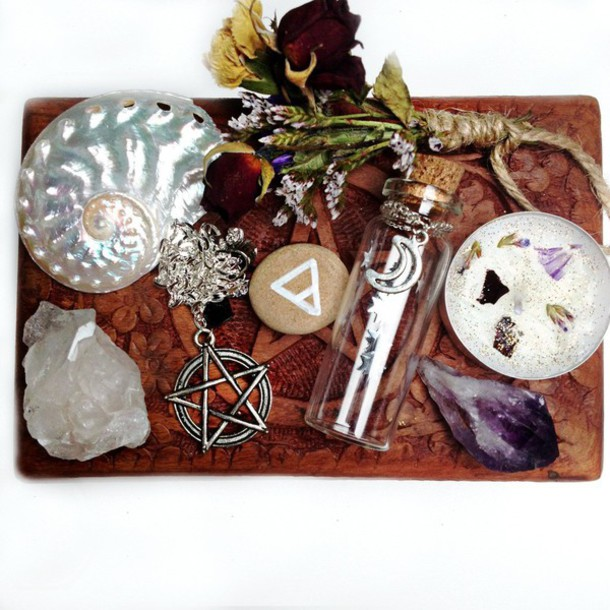 Jewels Indigo Child Witchy Altar Kit Altar Set Spell Box Witch