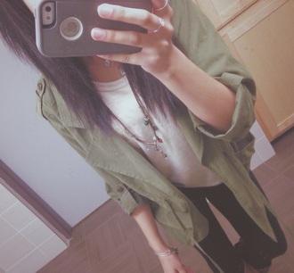 jacket green jacket green jewels