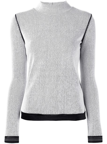 3.1 Phillip Lim jumper women spandex white sweater