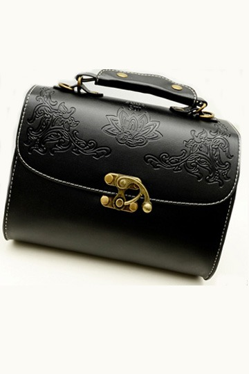 Embossed Square Satchel [FPB357]- US$28.99 - PersunMall.com