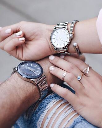jewels tumblr accessories accessory ring knuckle ring watch bracelets