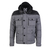Moncler Men Republique Down Jacket Black Grey