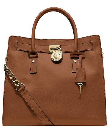 MICHAEL Michael Kors Handbag, Hamilton Saffiano Leather Tote - Shop All Michael Kors Handbags & Accessories - Handbags & Accessories - Macy's