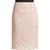 Cordonetto-lace pencil skirt