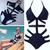 Sexy Strappy One Piece Swimsuit Swimwear Bathing Monokini Push Up Padded Bikini | eBay