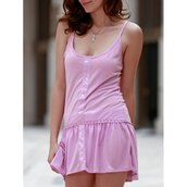 dress,cute,trendy,pink,girly,fashion,style,hot,casual,rose wholesale-ma
