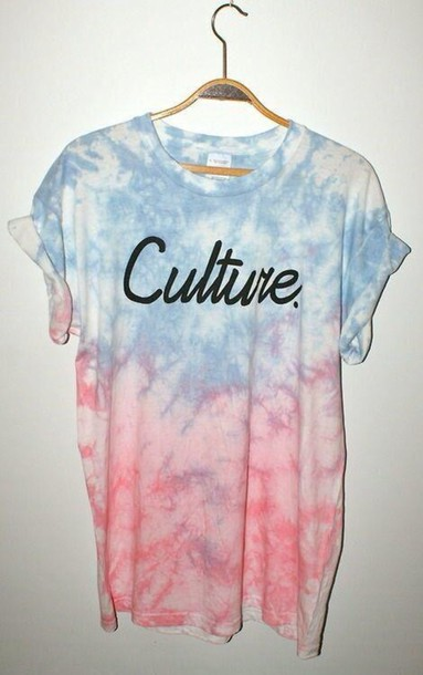 t-shirt pastel shirt culture multicolor