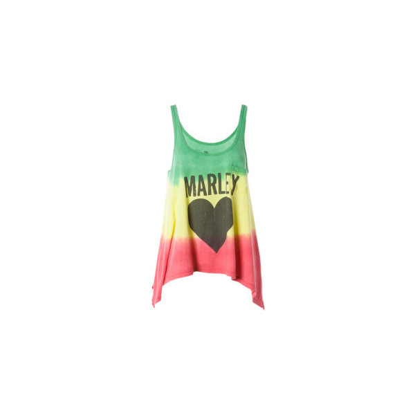Billabong Bob Marley Sun Is Shining Tank Top