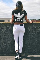 t-shirt,top,trendy,pretty,blogger,wings,clothes,adidas wings,adidas,adidas shoes,wokout,beautiful,pants,shirt,t-shirt adidas black white,jeans,adidas black,adidas originals,tee shirt hipster,grunge t-shirt,black t-shirt,white,adidas shirt,summer shirt,black,black and white,cute