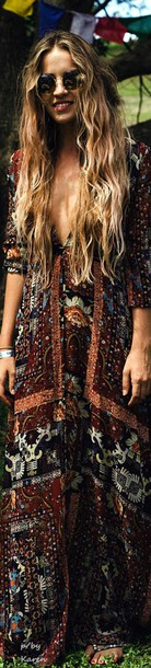 dress boho dress coachella boho boho chic hippie hippie chic summer dress bohemian bohemian dress