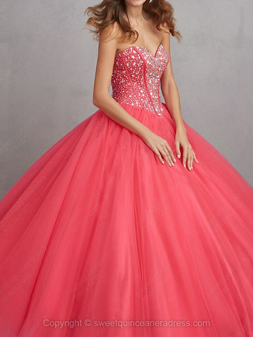 Length beading quinceanera dresses with various styles