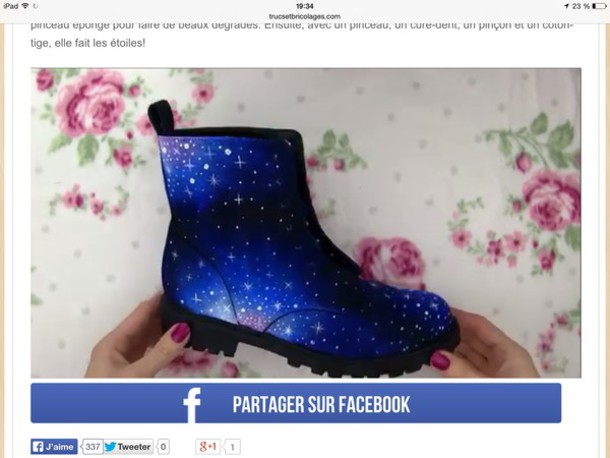 shoes galaxy boots