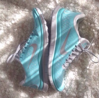 shoes nike running tiffany blue
