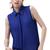 ROMWE | Metal Point Lapel Blue Chiffon Shirt, The Latest Street Fashion