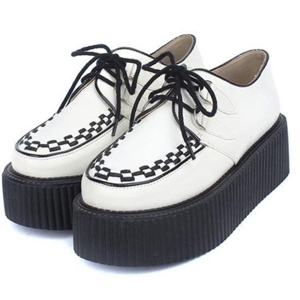shoes creepers platform shoes platform shoes
