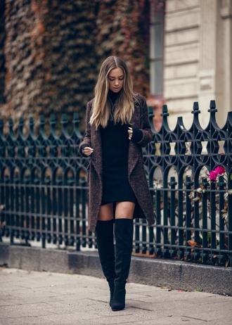 lisa olsson blogger dress shoes coat