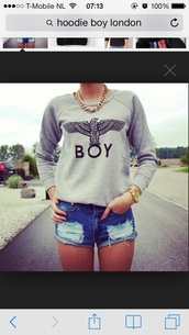 sweater,boy london,london boy,hoodie,boy,london,shorts,city