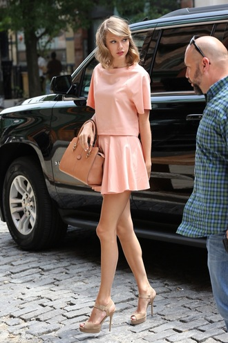skirt taylor swift dress taylor swift pink skirt pink blouse blouse