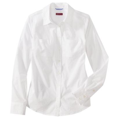 2222a24d Merona® Women's Favorite Oxford Shirt - Asso... : Target