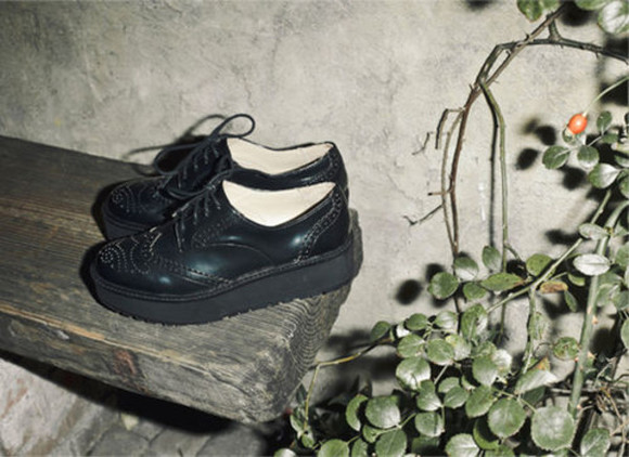 shoes oxfords black oxfords black platform platform shoes