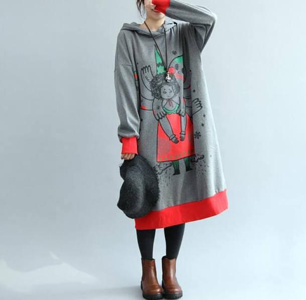 dress oversized loose dress