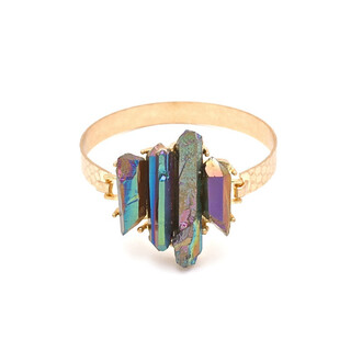 jewels bracelets gold anarchy street crystal raw crystal gold bracelets crystal bracelet quartz crystal quartz