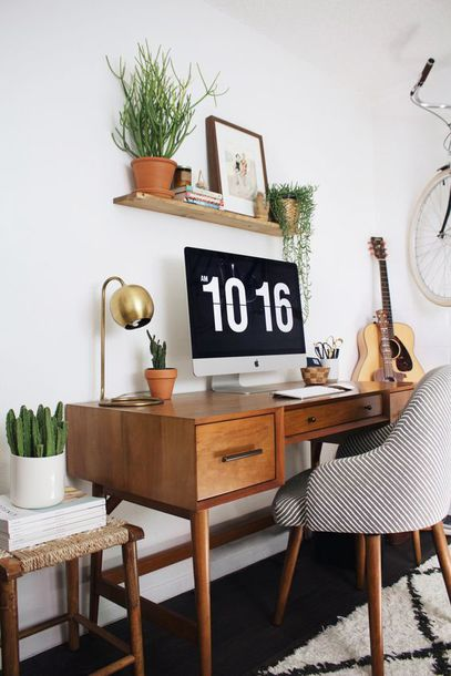 tumblr office. Home Accessory, Furniture, Table, Chair, Tumblr, Decor, Office - Wheretoget Tumblr L