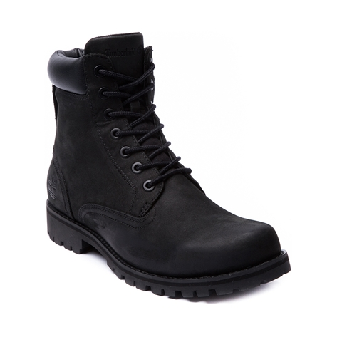 mens timberland 6 boot black at journeys shoes