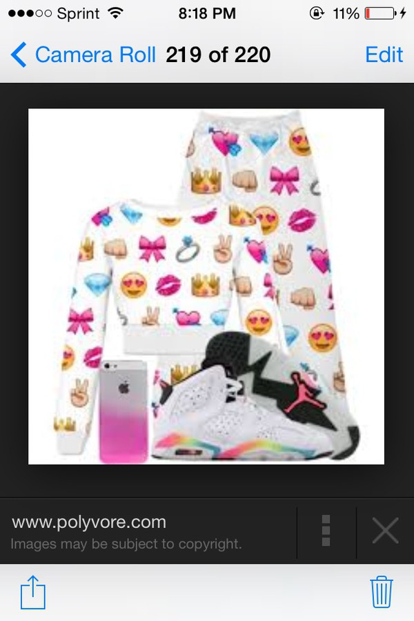 Emoji Joggers Picture Pictures to pin on Pinterest