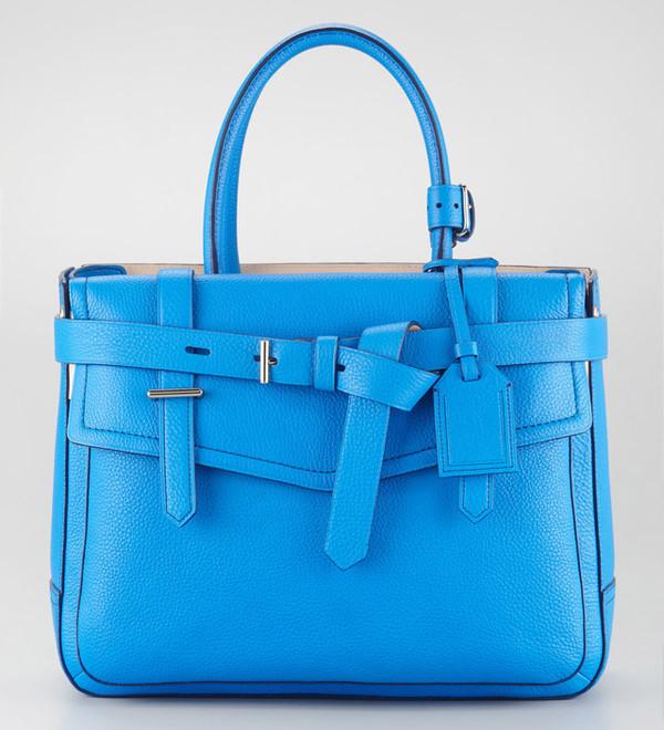 bag fashion light blue classic