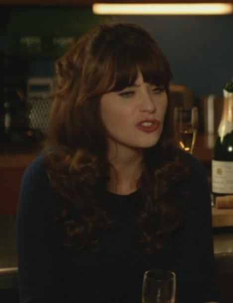 sweater new girl jess day zooey deschanel