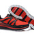 trail running shoes-Salomon S WIND Trainers red and black