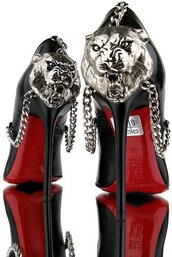shoes,heels,cats,fierce,high heel pumps,black heels,tiger,pumps