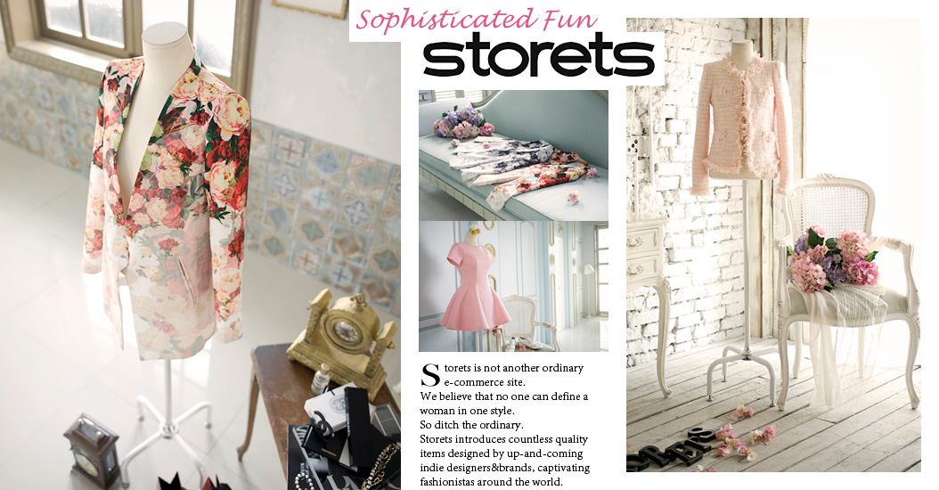 Heart ♥ storets! The latest fashion in a snap. The ultimate fashion destination to fashionistas. We set the trend in fashion.